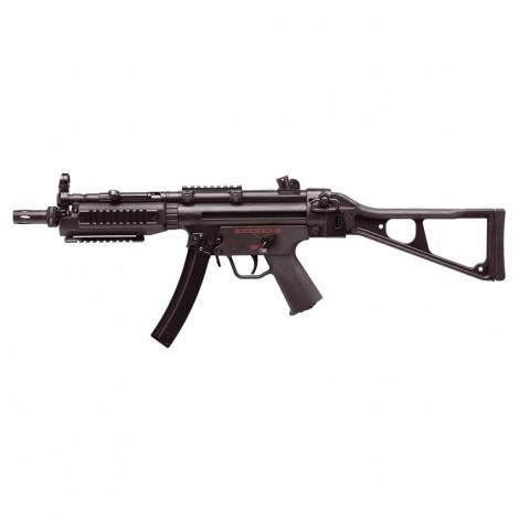 G&G FUCILE ELETTRICO ASG AEG MP5 TGM A5 RIS CALCIO ABBATTIBILE EBB BLOWBACK METALLO NERO BLACK - G&G