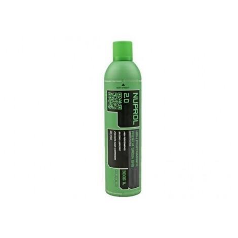NUPROL GREEN GAS ALTE PRESTAZIONI 2.0 VERDE 600 ml - NUPROL
