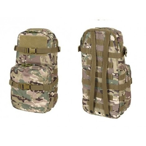 8 FIELDS ZAINETTO MINI MAP ATTACCO MOLLE CON SACCA DI IDRATAZIONE 2.5 L MULTICAM MC - 8 FIELDS
