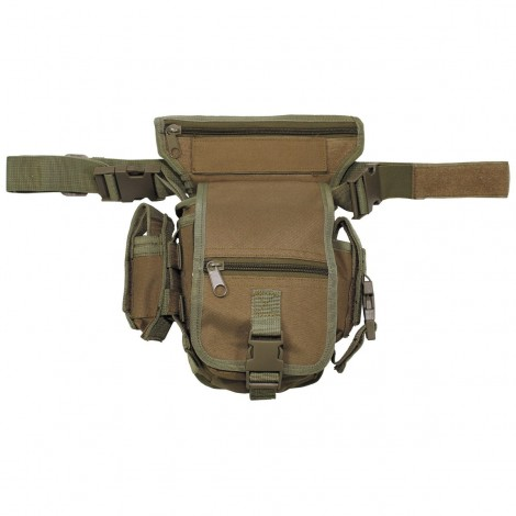 TASCA Hip Bag Security black leg and belt fixing COYOTE CB TAN - MFH