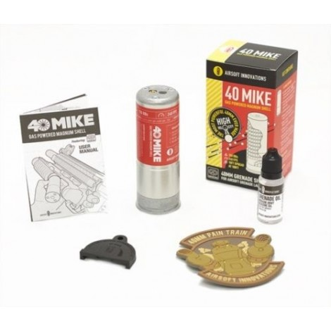 AIRSOFT INNOVATIONS GRANATA 40 MIKE GAS MAGNUM SHELL - AIRSOFT INNOVATIONS