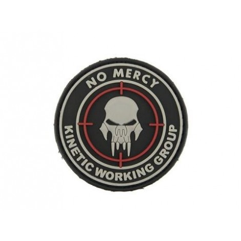 PATCH NO MERCY PVC VELCRO PATCH -