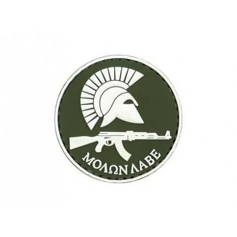 PATCH MOLON LABE AK PVC VELCRO PATCH OD -