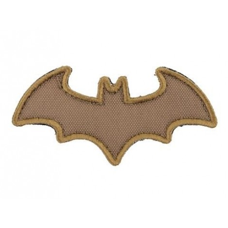 PATCH BAT PVC VELCRO PATCH COYOTE CB -