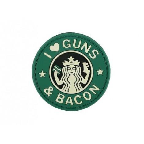 PATCH GUNS & BACON G&B PVC VELCRO PATCH -