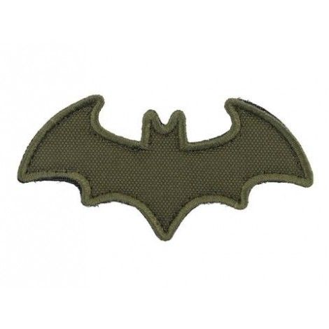 PATCH BAT PVC VELCRO PATCH VERDE OD -