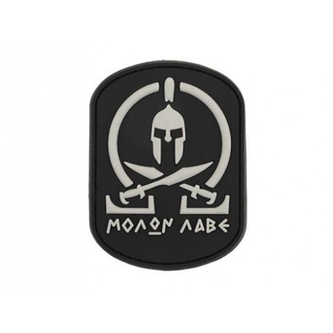 PATCH MOLON LABE PVC VELCRO PATCH NERA -