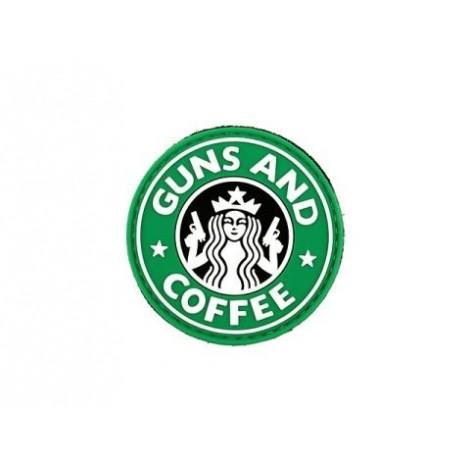 PATCH GUNS & COFFEE G&C PVC VELCRO PATCH -