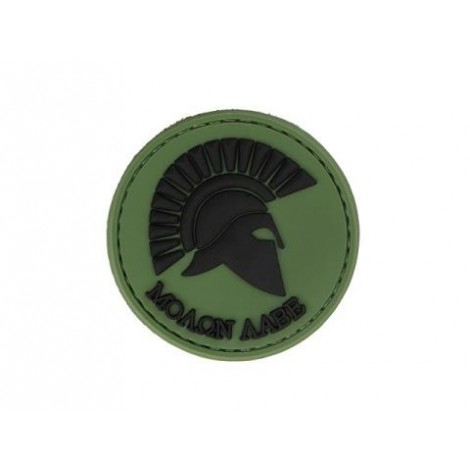 PATCH ELMO MOLON LABE PVC VELCRO PATCH VERDE -