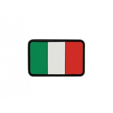 PATCH BANDIERINA ITALIA PVC VELCRO PATCH -
