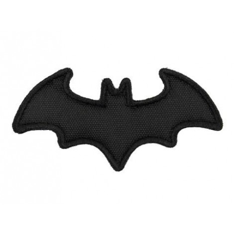 PATCH BAT PVC VELCRO PATCH NERA -