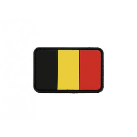 PATCH BANDIERINA BELGIO PVC VELCRO PATCH -