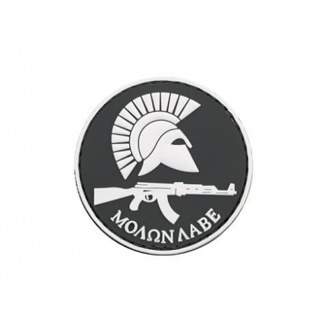 PATCH MOLON LABE AK PVC VELCRO PATCH NERA -