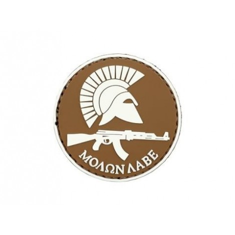 PATCH MOLON LABE AK PVC VELCRO PATCH TAN -