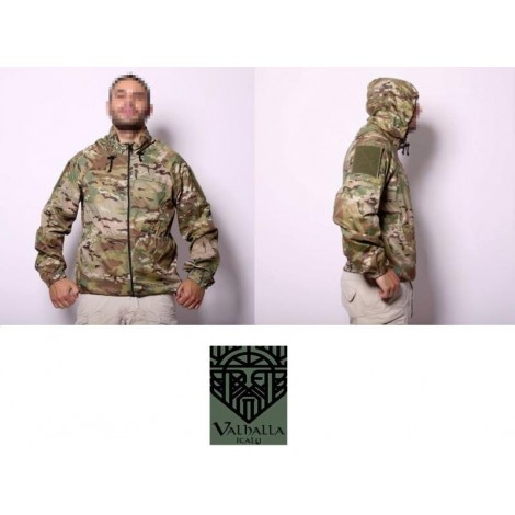 VHTac LEVEL 5 SOFT SHELL K-WAY IMPERMIABILE MULTICAM MC - Valhalla VHTac