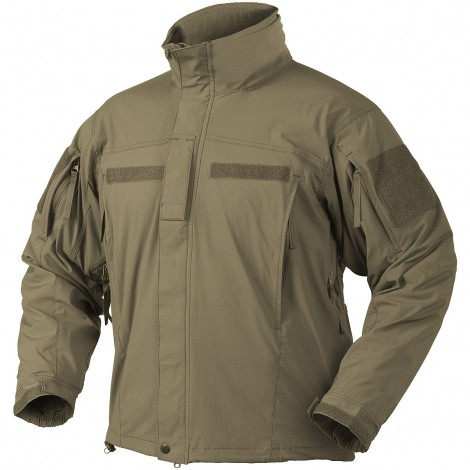 HELIKON SOFT SHELL JACKET MK2 LEVEL 5 VER II COYOTE CB - HELIKON