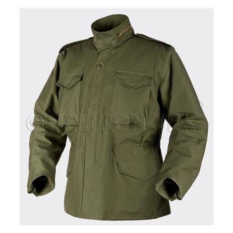 HELIKON M65 Jacket NyCo Sateen - VERDE OD Olive Green - HELIKON