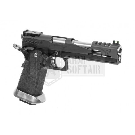 WE Hi-Capa 6 T-Rex Custom GBB GAS BLOWBACK METAL NERA BLACK - WE