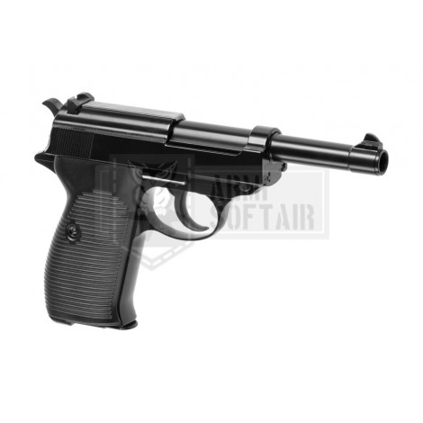 WE P38 GBB GAS BLOWBACK METAL NERA BLACK - WE