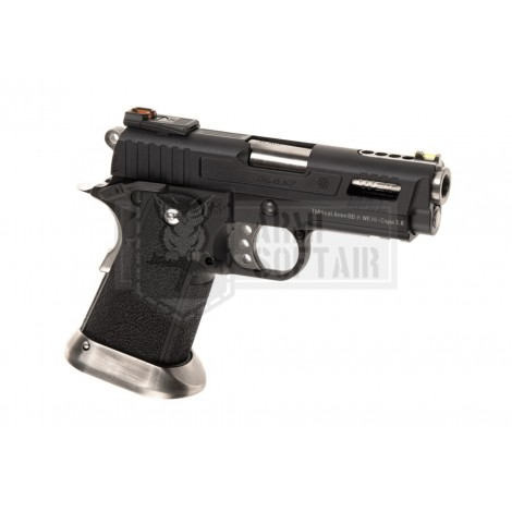 WE Hi-Capa 3.8 Force GBB GAS BLOWBACK METAL NERA BLACK - WE