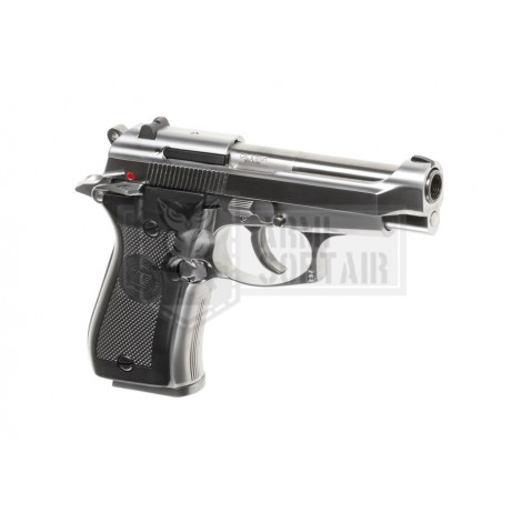 WE M84 GBB GAS BLOWBACK METAL ARGENTO SILVER - WE