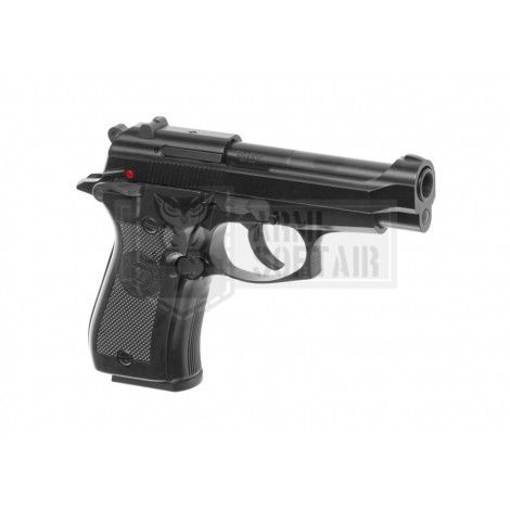 WE M84 GBB GAS BLOWBACK METAL NERA BLACK - WE