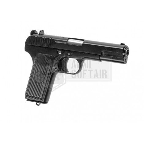WE TOKAREV TT-33 GBB GAS BLOWBACK METAL NERA BLACK - WE