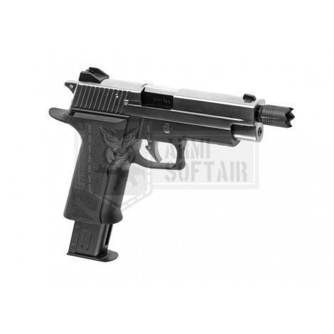 WE P226 Virus RESIDENT EVIL GBB GAS BLOWBACK METAL NERA BLACK - WE
