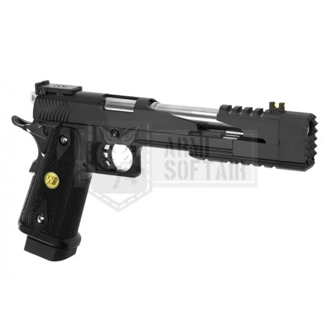 "WE Hi-Capa 7 "" DRAGON GBB GAS BLOWBACK METAL NERA BLACK - WE"