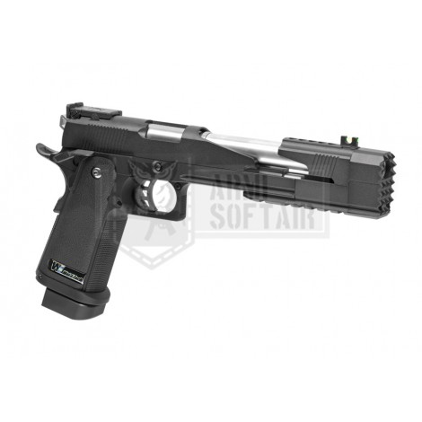 "WE Hi-Capa 7 "" GBB GAS BLOWBACK METAL NERA BLACK - WE"