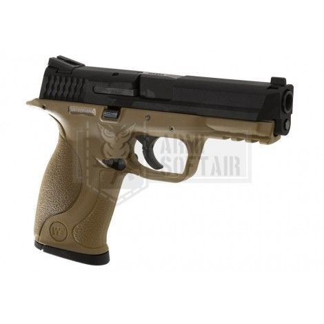 WE M&P GBB GAS BLOWBACK METAL NERA BLACK TAN - WE