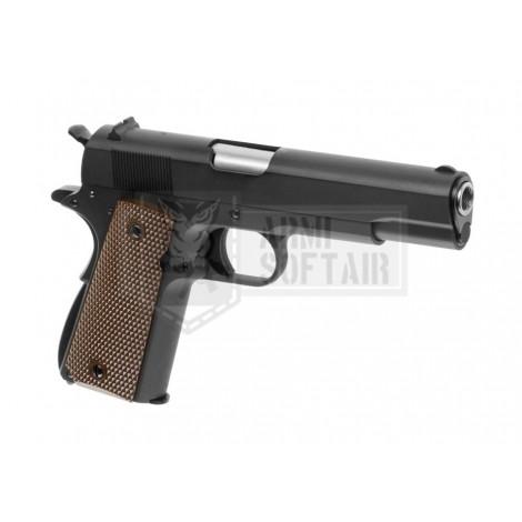 WE M1911 V3 GBB GAS BLOWBACK METAL NERA BLACK - WE