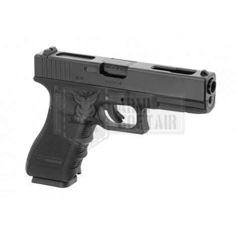 WE G18 C GEN 3 GBB GAS BLOWBACK METAL NERA BLACK - WE