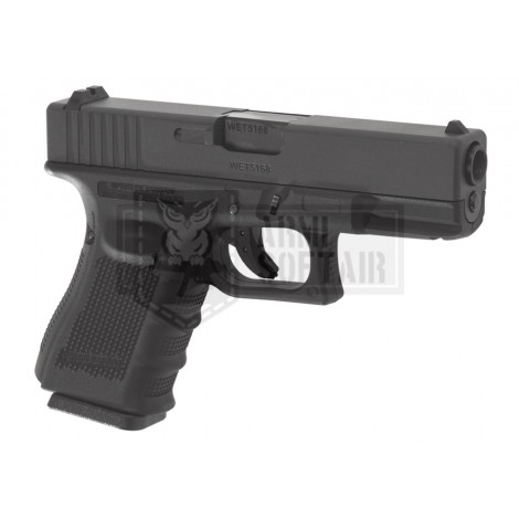 WE G19 GEN4 GBB GAS BLOWBACK METAL NERA BLACK - WE