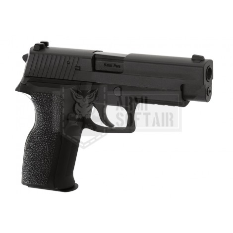 WE P226 E2 GBB GAS BLOWBACK METAL NERA BLACK - WE