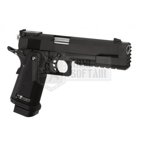 WE Hi-Capa 5.2 R GBB GAS BLOWBACK METAL NERA BLACK - WE
