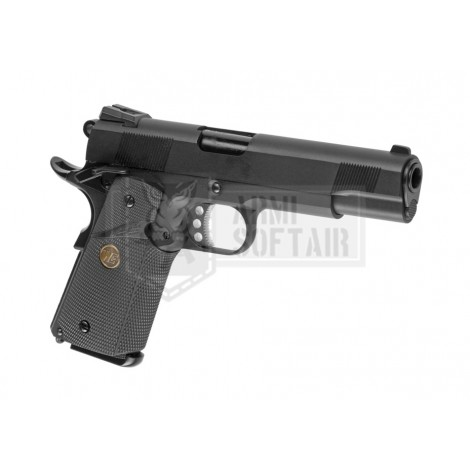 WE M1911 MEU GBB GAS BLOWBACK METAL NERA BLACK - WE