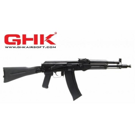 GHK AK 105 GREEN GAS BLOWBACK GBB FULL METAL - GHK