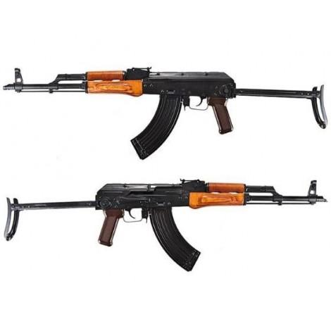 GHK AK AKMS GREEN GAS BLOWBACK GBB FULL METAL E VERO LEGNO - GHK