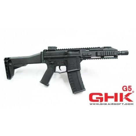 GHK G5 SCORPION GREEN GAS BLOWBACK GBB NERO BLACK - GHK