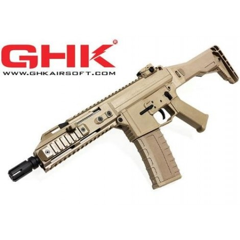 GHK G5 SCORPION GREEN GAS BLOWBACK GBB TAN - GHK