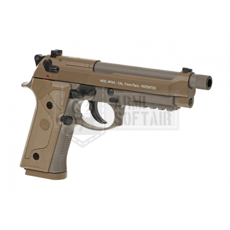 UMAREX BERETTA M9 A3 BLOWBACK CO2 METAL FDE TAN - UMAREX