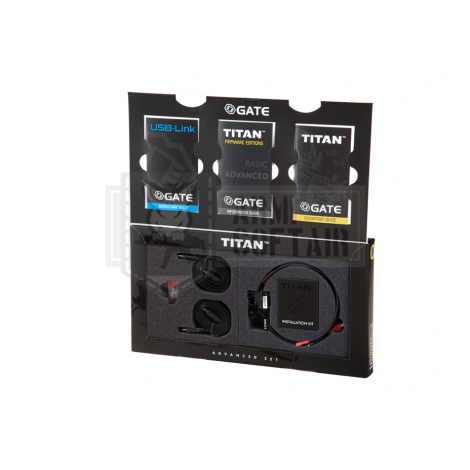 GATE MOSFET TITAN V2 M4 Advanced Set FRONT Wired ANTERIORE - GATE