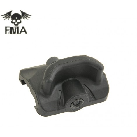 FMA GAS PEDAL THUMB REST TYPE GRIP RS2 NERA ( TB1063 BK ) - FMA
