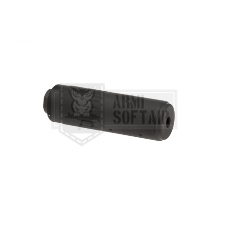 BIG DRAGON SILENZIATORE AAC INNESTO RAPIDO 120 mm NERO BLACK - BIG DRAGON