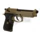 WE M9 A1 GBB GAS BLOWBACK METAL TAN / NERA BLACK - WE