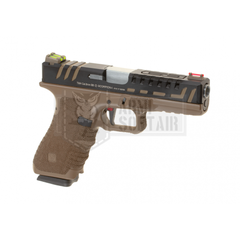 APS D-Mod Scorpion GBB GAS & CO2 BLOWBACK METAL TAN - APS