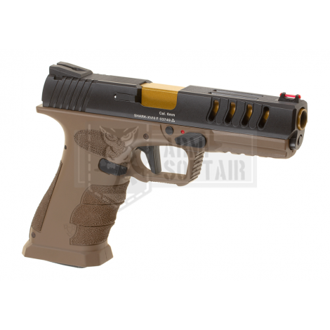 APS D-Mod SHARK GBB GAS & CO2 BLOWBACK METAL TAN - APS