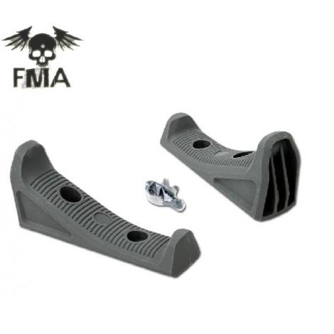 FMA FFG3 M-LOK IMPUGNATURA FRONTALE ANGOLATA SLIM VERDE FG ( TB1060 FG ) - FMA