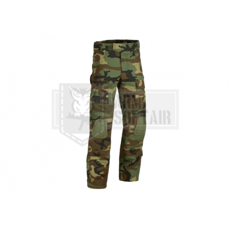 INVADER GEAR PANTALONI PREDATOR COMBAT PANTS WOODLAND - INVADER GEAR
